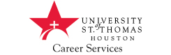 University of St. Thomas Career Services department logo