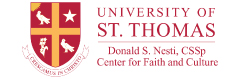 University of St. Thomas Center for Faith and Culture logo