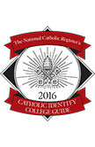The National Catholic Register's Catholic Identity College Guide Badge