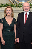 Ambassador Anne Anderson and deputy First Minister Martin McGuinness the University of St. Thomas William J. Flynn Center for Irish Studies Irish Gala.