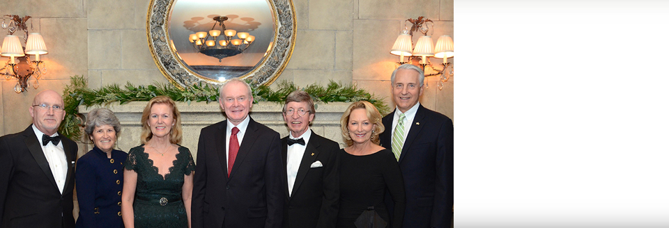 Gala Celebrates Ireland with Special Tribute to William J. Flynn