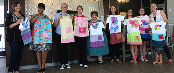 Nursing Honor Society Makes Dresses for African Orphans