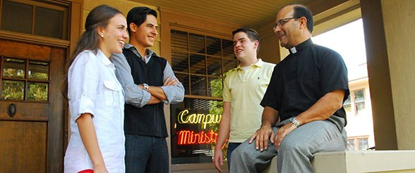 Campus Ministry at Catholic University of St. Thomas in Houston, Texas