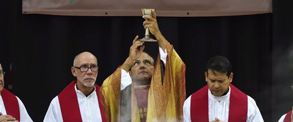 Mass of the Holy Spirit at University of St. Thomas in Houston, Texas