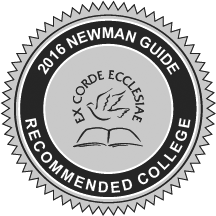 University of St. Thomas in Houston TX is a 2016 Newman Guide Recommended College