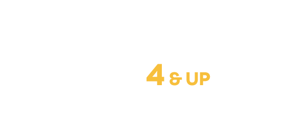 Programs and camps for ages 4 and up