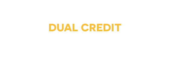 Dual Credit courses for college students