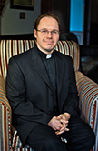 Father Chris Valka from the University of St. Thomas in Houston Texas
