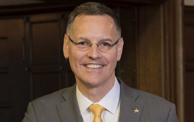 University of St. Thomas President, Richard L. Ludwick