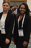 Students from the Master in Clinical Translation Management program representing the Cameron School of Business at the 2017 BIO International Convention