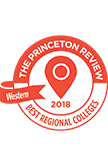 The Princeton Review Best Western Regional Colleges Badge