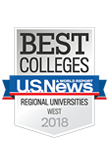 U.S. News and World Report Best Regional Universities 2018 Badge