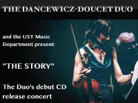 Photo of the Dancewicz-Doucet Duo