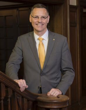 University of St. Thomas Houston President Richard L. Ludwick