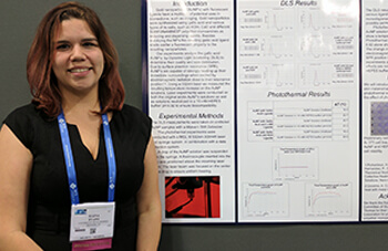 Two female Cooperative Engineering students conduct research at the University of St. Thomas - Houston