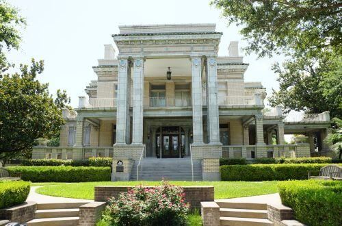 Link Lee Mansion on the campus of the University of St. Thomas in Houston, Texas