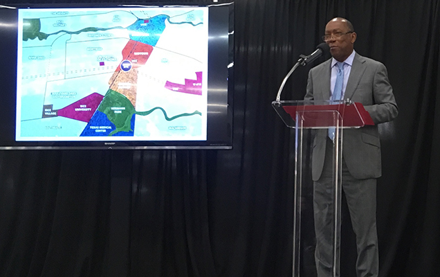 Houston Mayor Sylvester Turner announces new innovation hub