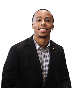 Jakobi Nunn, University of St. Thomas - Houston business major, entrepreneurship minor