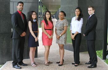 University of St. Thomas - Houston student government members