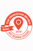 Princeton Review badge - University of St. Thomas - Houston - thumbnail