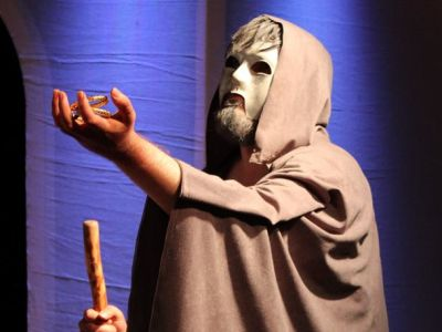 University of St. Thomas - Houston student performs in Drama production
