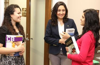 Three University of St. Thomas - Houston MBA Master of Business Administration students talk