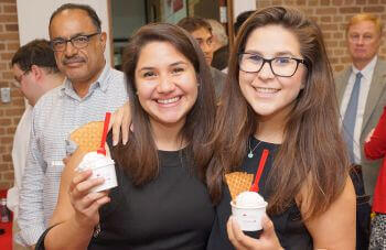 University of St. Thomas - Houston MSA students at ice cream social