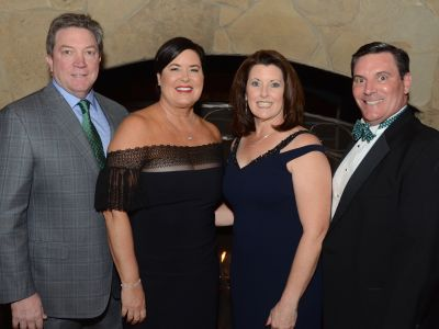 Honorees Sean Tracey '88 and Kari Tracey and Chairs Charlene and John O'Shea