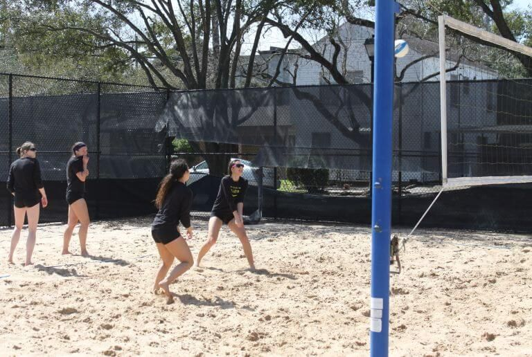 Sand volleyball