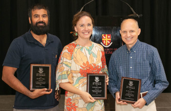 University of St. Thomas - Houston faculty members receive awards