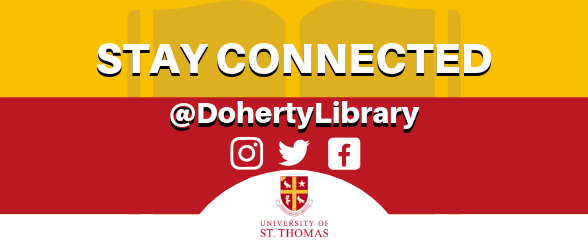 Social Media Account @DohertyLibrary