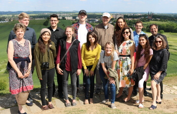 Group of MA in John Paul II Studies students in Poland - University of St. Thomas - Houston