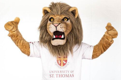 Apply to Be Lenny the Lion, University of St. Thomas - Houston mascot
