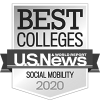 University of St. Thomas in Houston, Texas named one of the best colleges for Social Mobility by U.S. News and World Report