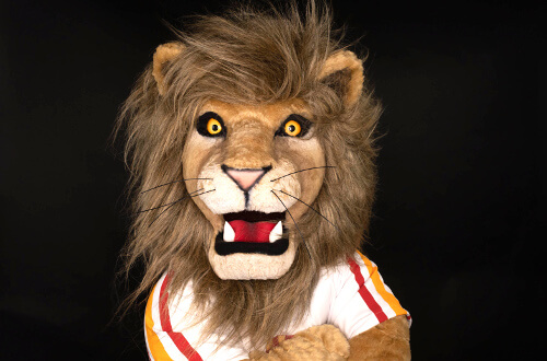 University of St. Thomas - Houston mascot Lenny the Lion