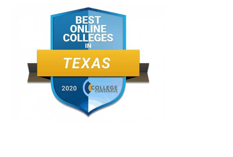 Logo: College Consensus, and #1 in Houston