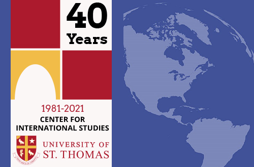 University of St. Thomas Houston students Center for International Studies LOGO