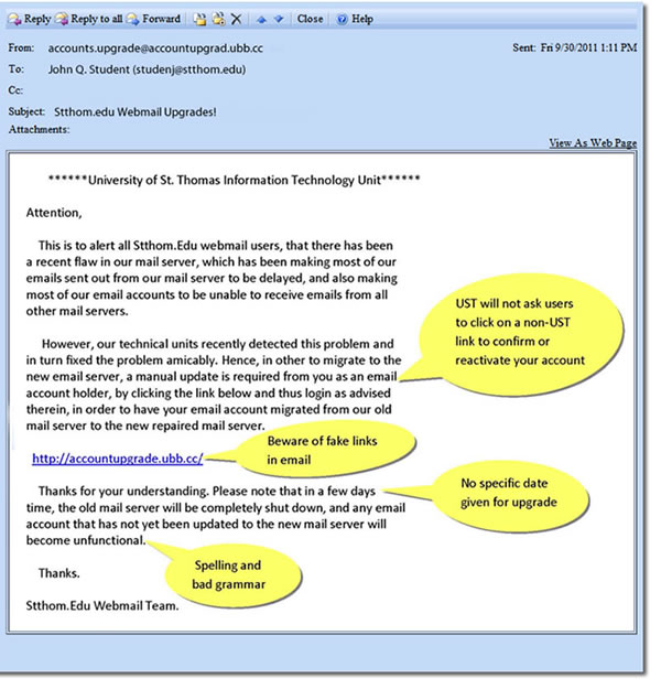 dating email scams