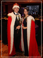 2011 Mardi Gras King and Queen