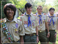 UST Awards Scholarships to UST Eagle Scouts