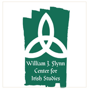 Logo:  William J. Flynn Center for Irish Studies Center