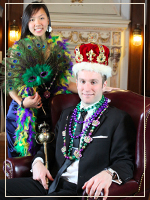2012 Mardi Gras King and Queen