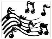 Graphic: Musical Notes