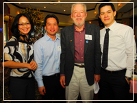 Photo: Dr Tran and Alumni
