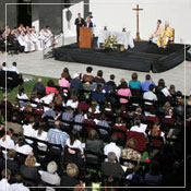 Outdoor Mass,  Annual UST/Archdiocesan Essay Contest