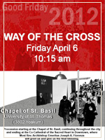 Walk the Way of the Cross on Good Friday