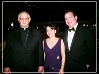2006: Lucia and Michael Cordu (chairs) and Honoree, Archbishop Fiorenza