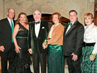 Photo: Jim Power, Susan Power, Tom Horan, Jeani Horan, Steve Toomey and Mills Toomey