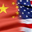 Graphic: US China Flag