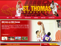 Photo: New Athletics website
